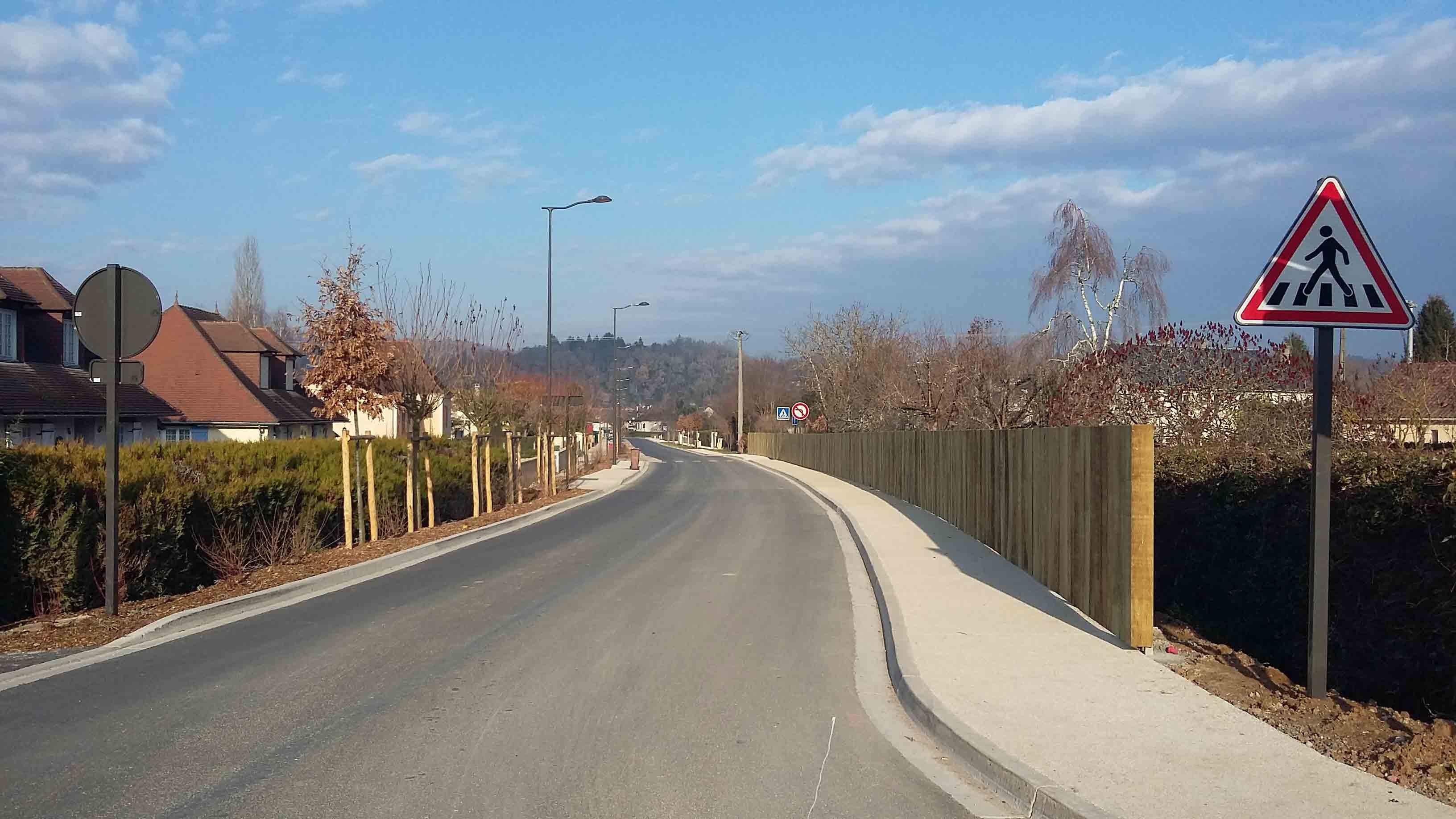 Aménagement urbain voiries Montignac 11