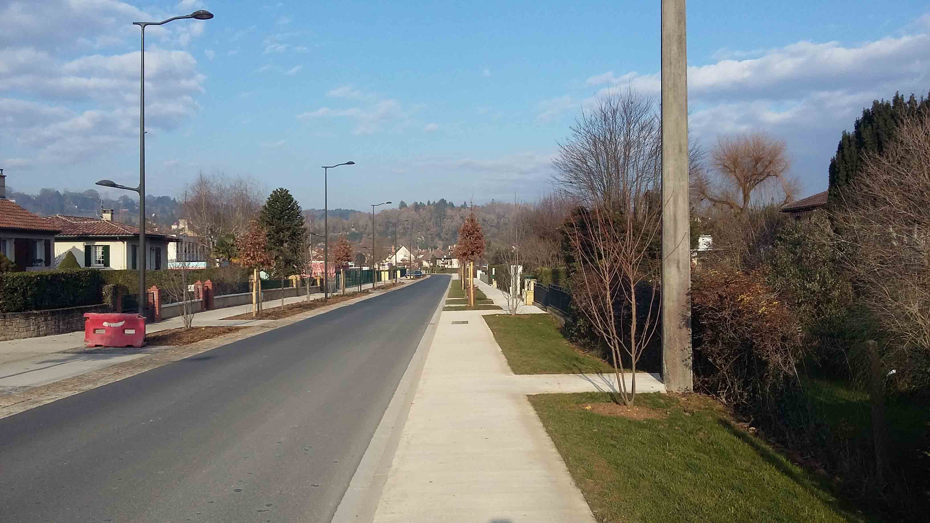 Aménagement urbain voiries Montignac 12