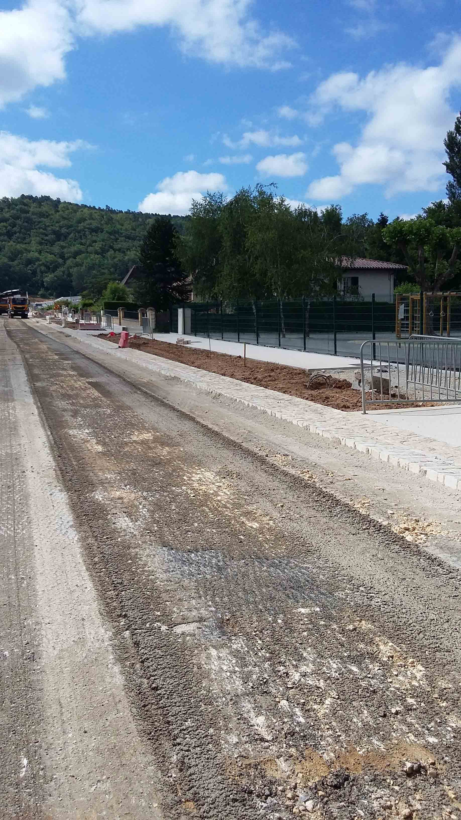 Aménagement urbain voiries Montignac 3