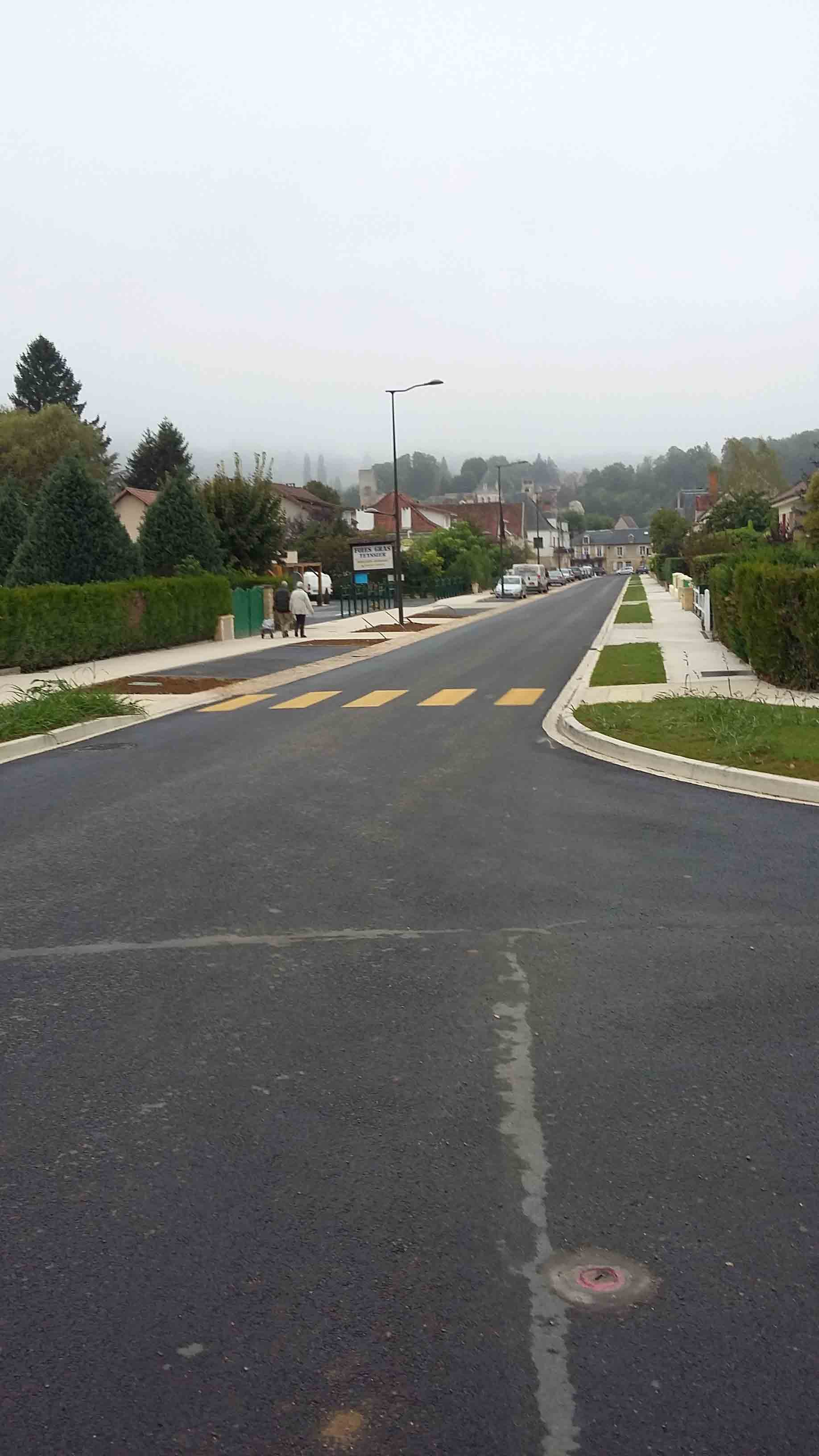 Aménagement urbain voiries Montignac 8