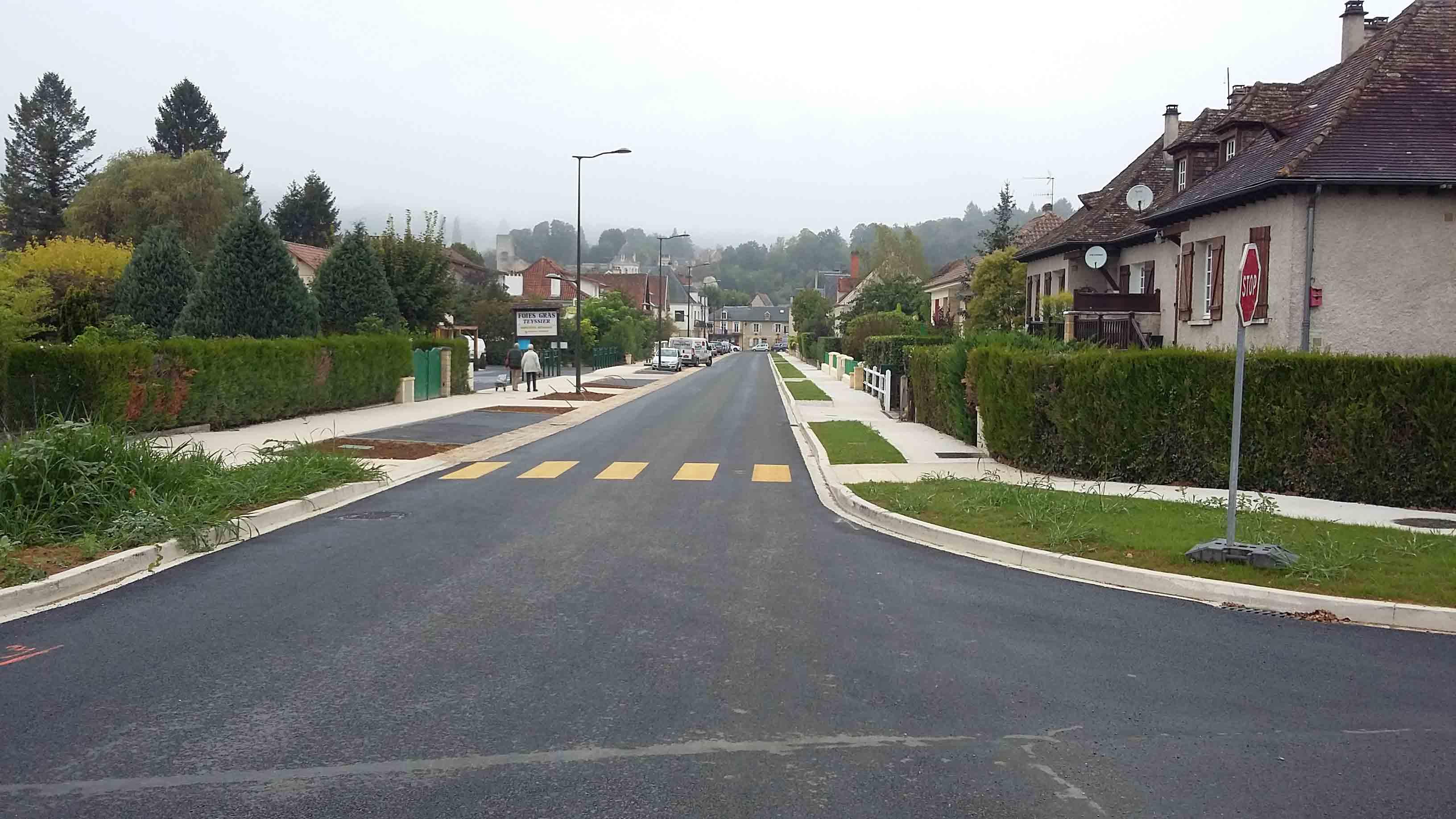 Aménagement urbain voiries Montignac 9
